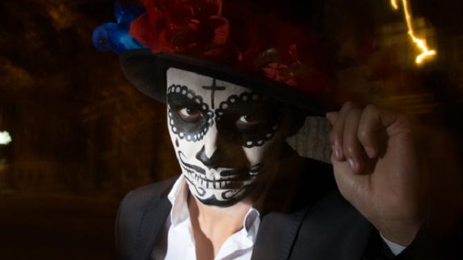 Легкий макияж на Хэллоуин: самые крутые идеи для взрослых и детей 39
