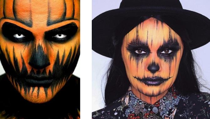 Легкий макияж на Хэллоуин: самые крутые идеи для взрослых и детей 40