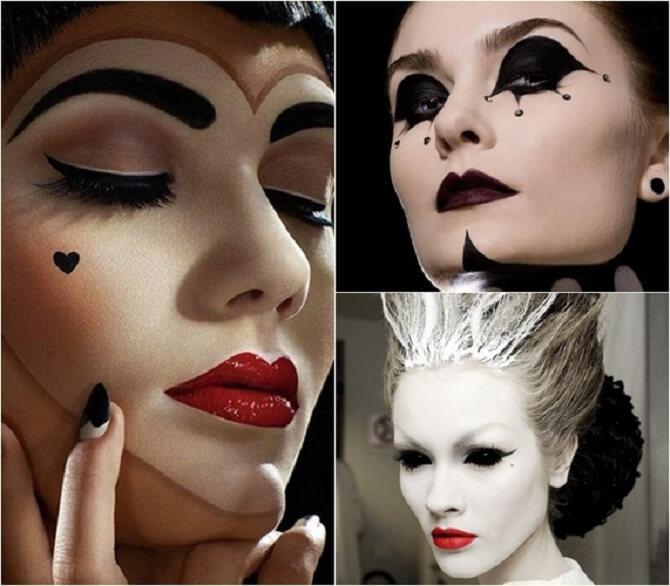 Легкий макияж на Хэллоуин: самые крутые идеи для взрослых и детей 32
