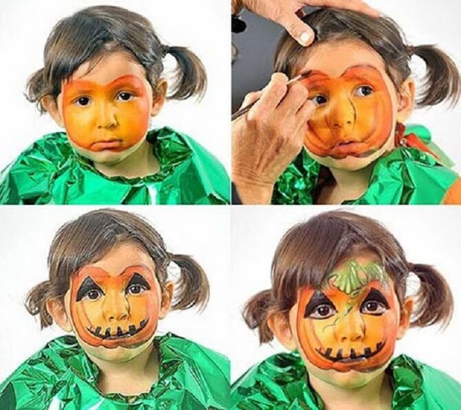 Легкий макияж на Хэллоуин: самые крутые идеи для взрослых и детей 42