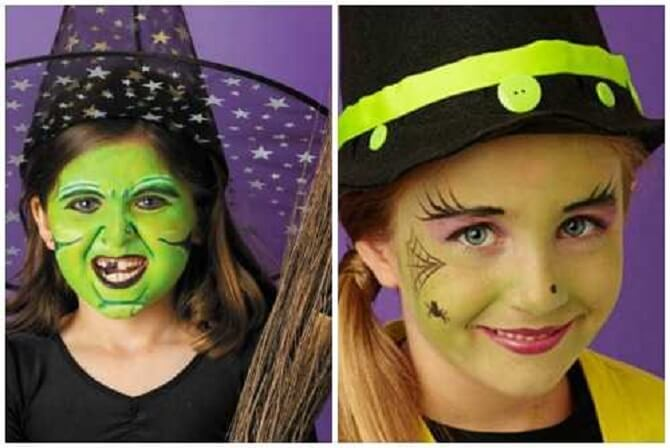 Легкий макияж на Хэллоуин: самые крутые идеи для взрослых и детей 44