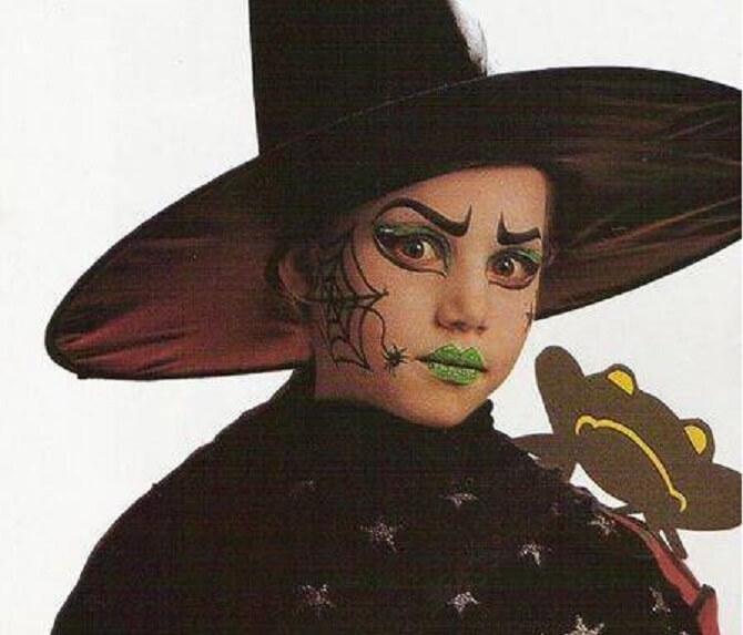 Легкий макияж на Хэллоуин: самые крутые идеи для взрослых и детей 45