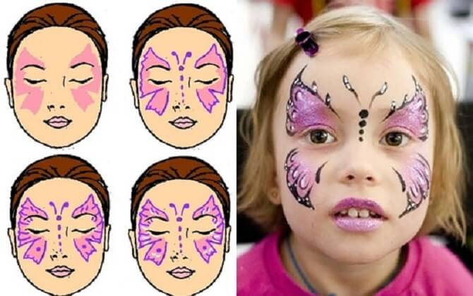 Легкий макияж на Хэллоуин: самые крутые идеи для взрослых и детей 46