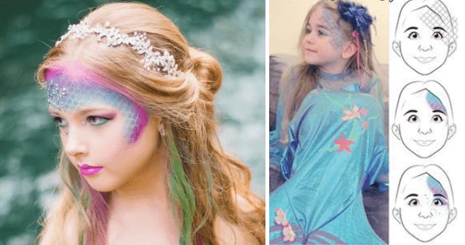 Легкий макияж на Хэллоуин: самые крутые идеи для взрослых и детей 47
