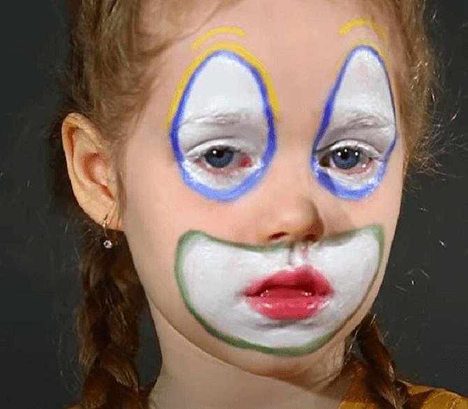 Легкий макияж на Хэллоуин: самые крутые идеи для взрослых и детей 48