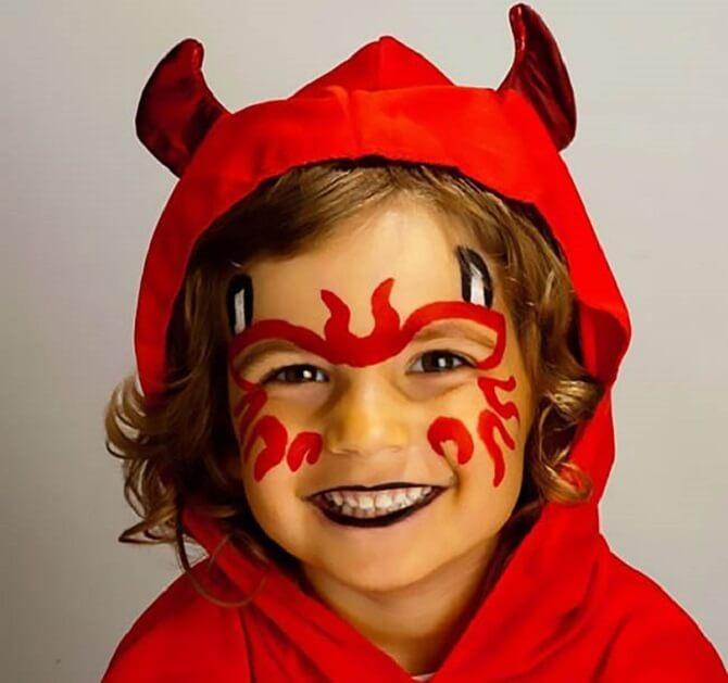 Легкий макияж на Хэллоуин: самые крутые идеи для взрослых и детей 50