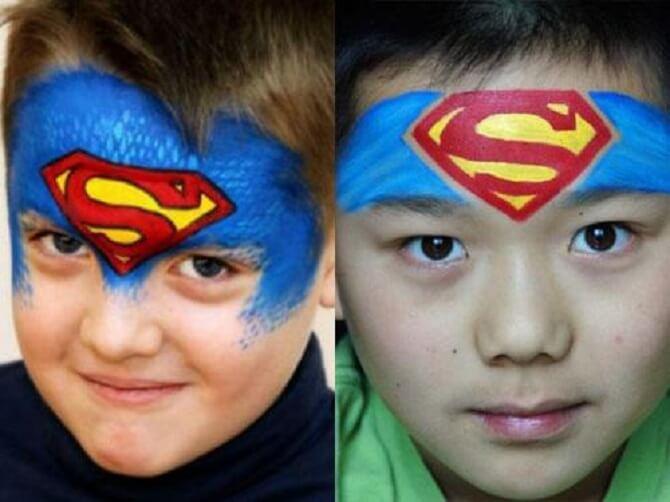 Легкий макияж на Хэллоуин: самые крутые идеи для взрослых и детей 52