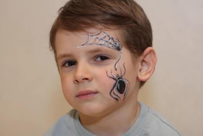 Легкий макияж на Хэллоуин: самые крутые идеи для взрослых и детей 53