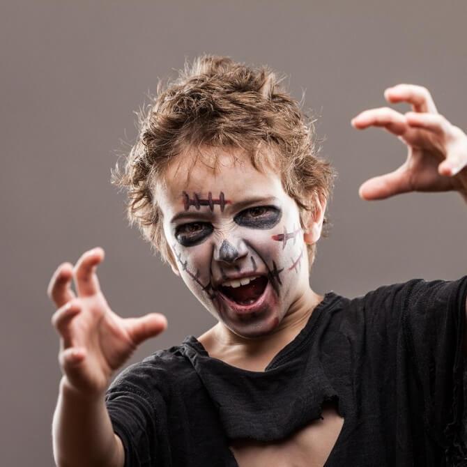 Легкий макияж на Хэллоуин: самые крутые идеи для взрослых и детей 54