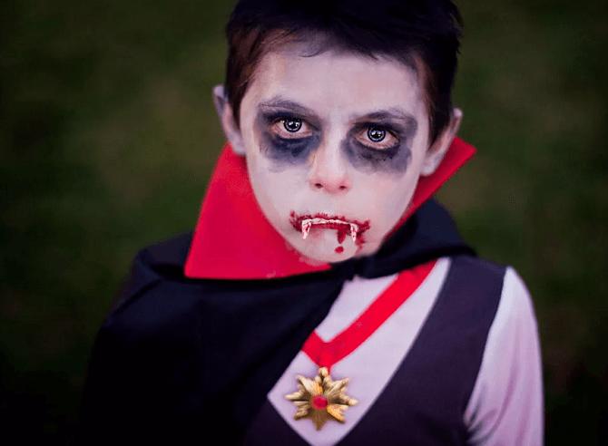 Легкий макияж на Хэллоуин: самые крутые идеи для взрослых и детей 55