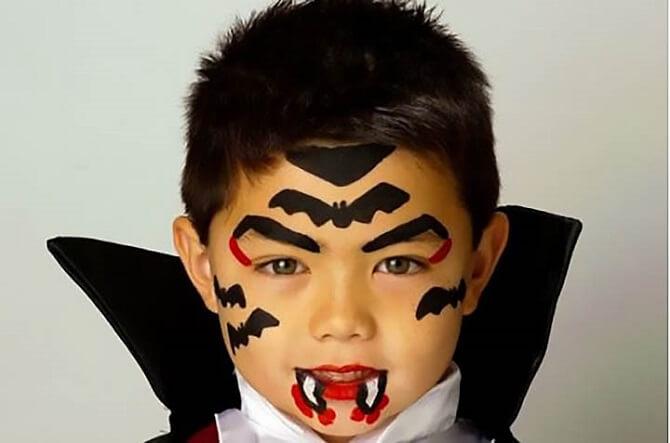 Легкий макияж на Хэллоуин: самые крутые идеи для взрослых и детей 56