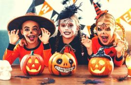 Страшно, весело и ярко:  20+ крутых идей макияжа для детей на Хэллоуин – фото, мастер-классы на видео