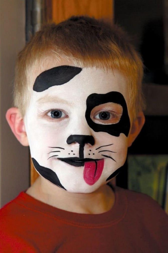 Страшно, весело і яскраво: 20+ крутих ідей макіяжу для дітей на Геловін – фото, майстер-класи на відео 32