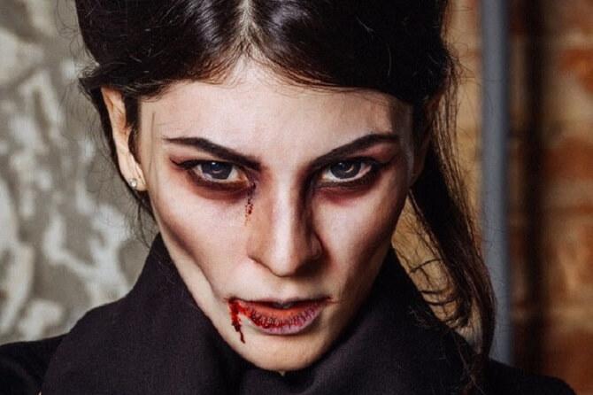 Макияж ведьмы на Хэллоуин: топ-40+ крутых идей для девушек и детей, фото 5