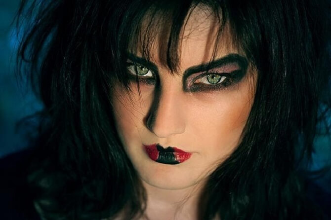 Макияж ведьмы на Хэллоуин: топ-40+ крутых идей для девушек и детей, фото 6