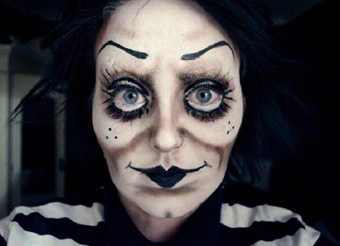 Макияж ведьмы на Хэллоуин: топ-40+ крутых идей для девушек и детей, фото 7