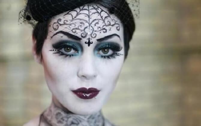 Макияж ведьмы на Хэллоуин: топ-40+ крутых идей для девушек и детей, фото 11