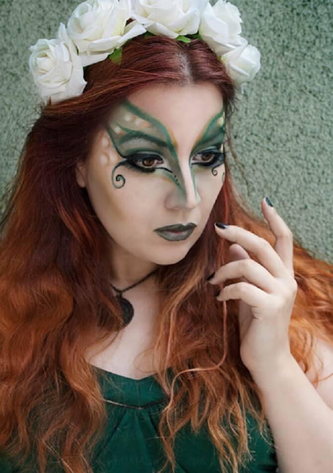 Макияж ведьмы на Хэллоуин: топ-40+ крутых идей для девушек и детей, фото 12