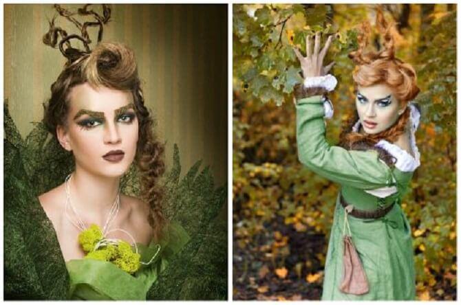Макияж ведьмы на Хэллоуин: топ-40+ крутых идей для девушек и детей, фото 13