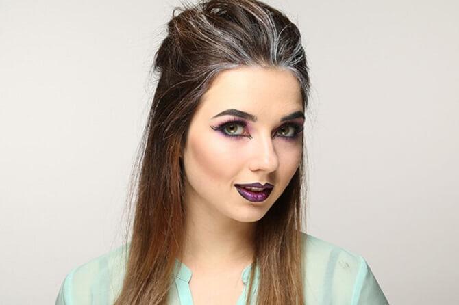 Макияж ведьмы на Хэллоуин: топ-40+ крутых идей для девушек и детей, фото 15
