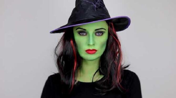 Макияж ведьмы на Хэллоуин: топ-40+ крутых идей для девушек и детей, фото 16