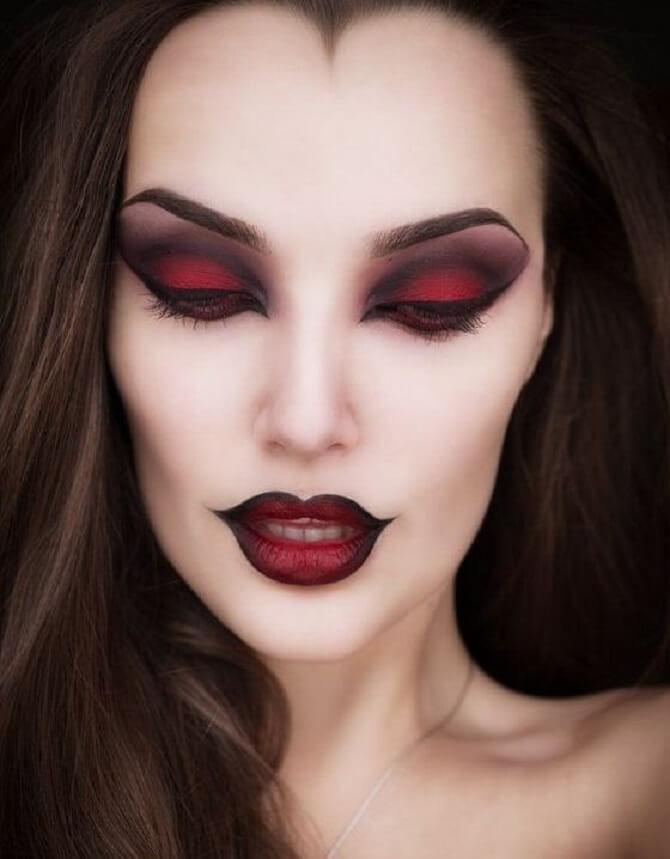 Макияж ведьмы на Хэллоуин: топ-40+ крутых идей для девушек и детей, фото 22