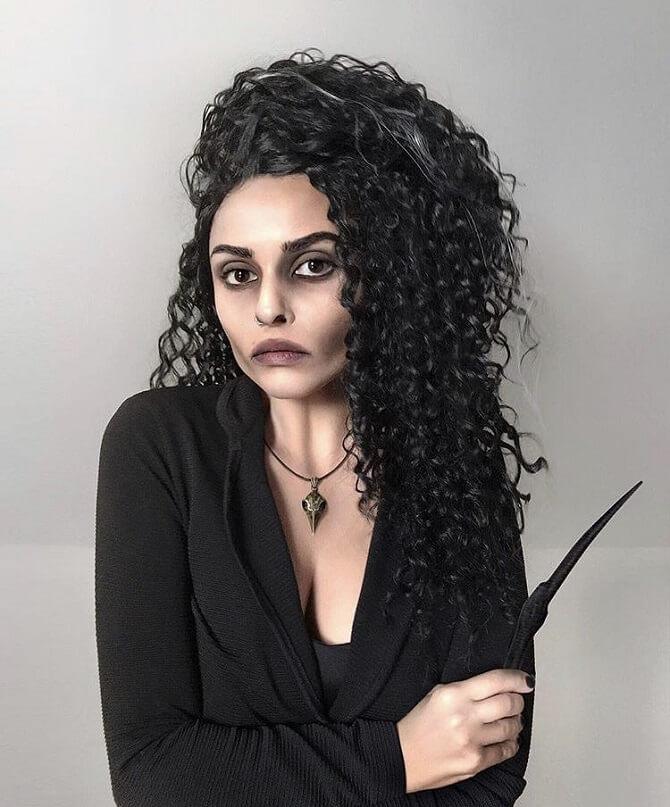 Макияж ведьмы на Хэллоуин: топ-40+ крутых идей для девушек и детей, фото 24
