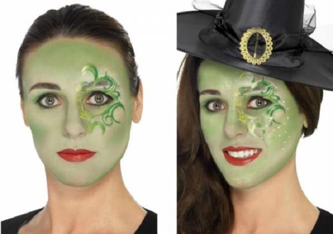 Макияж ведьмы на Хэллоуин: топ-40+ крутых идей для девушек и детей, фото 27