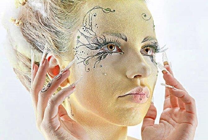 Макияж ведьмы на Хэллоуин: топ-40+ крутых идей для девушек и детей, фото 28