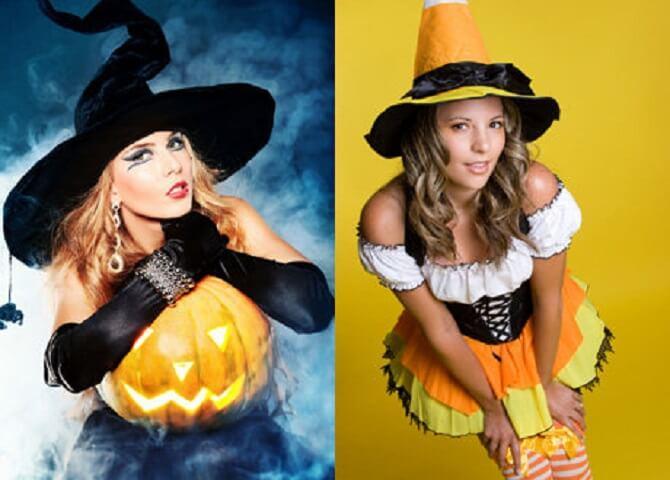Макияж ведьмы на Хэллоуин: топ-40+ крутых идей для девушек и детей, фото 31