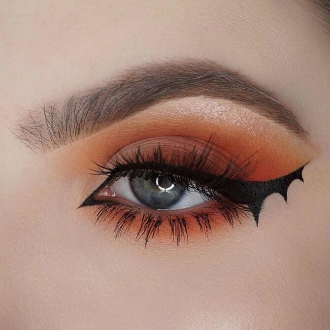 Макияж ведьмы на Хэллоуин: топ-40+ крутых идей для девушек и детей, фото 37