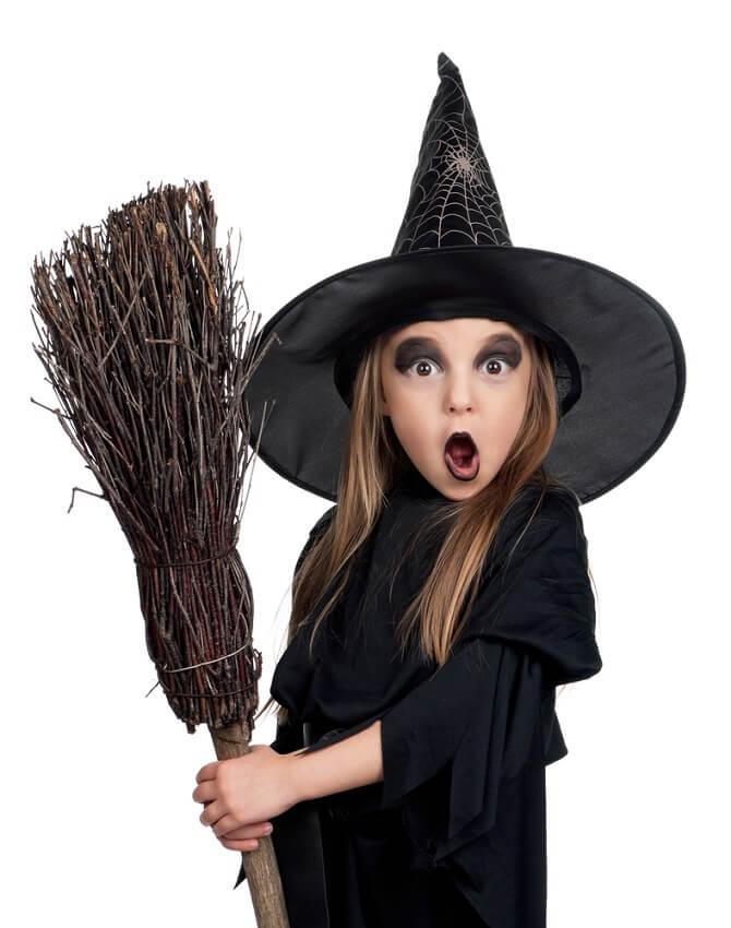 Макияж ведьмы на Хэллоуин: топ-40+ крутых идей для девушек и детей, фото 40