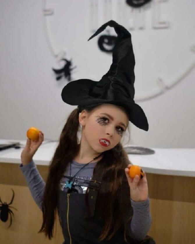 Макияж ведьмы на Хэллоуин: топ-40+ крутых идей для девушек и детей, фото 41