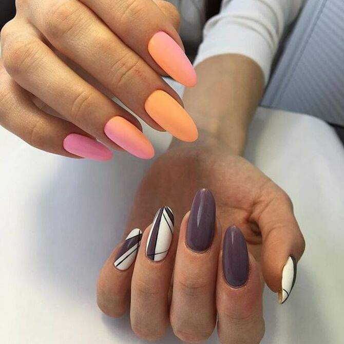 Разные руки – горячий nail-тренд 2020 2021 11