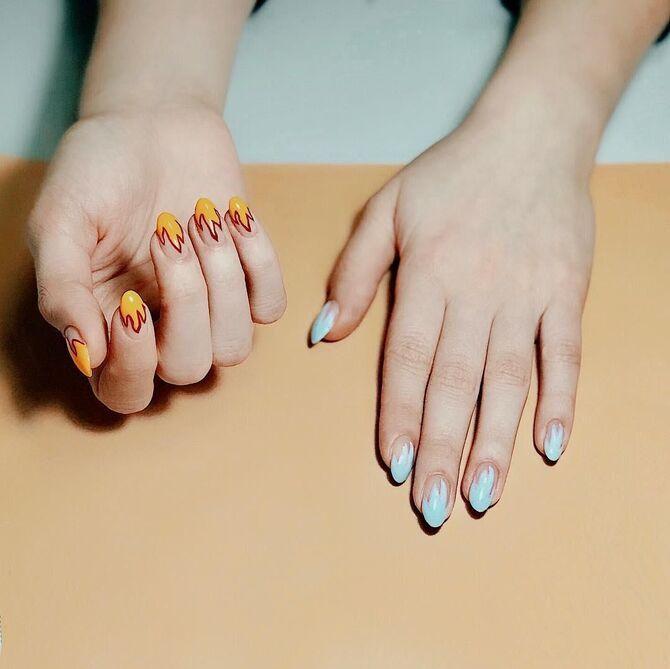 Разные руки – горячий nail-тренд 2020 2021 15