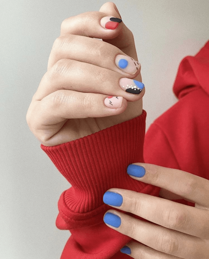 Разные руки – горячий nail-тренд 2020 2021 20