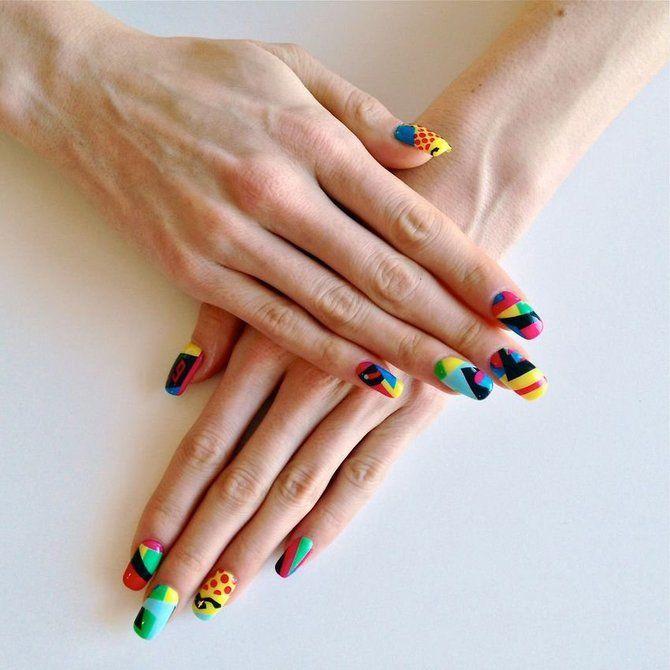 Різні руки – гарячий nail-тренд 2020 2021 21
