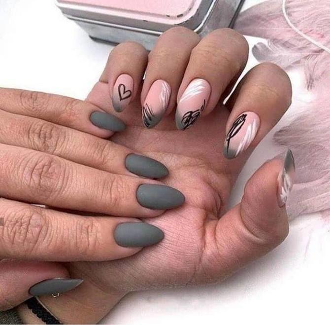 Разные руки – горячий nail-тренд 2020 2021 25