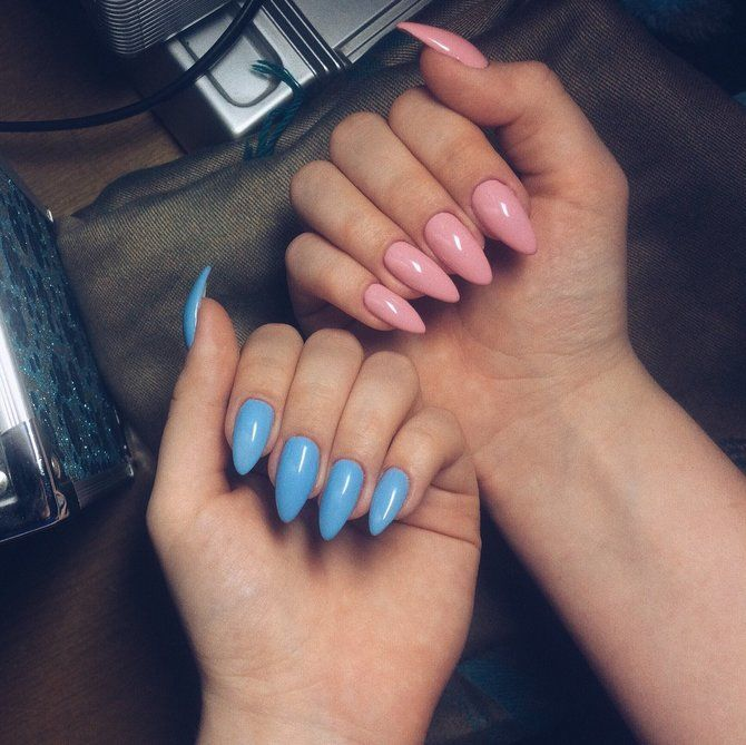 Разные руки – горячий nail-тренд 2020 2021 29