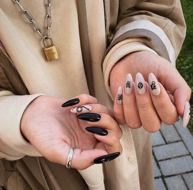 Разные руки – горячий nail-тренд 2020 2021 31