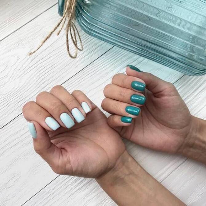 Разные руки – горячий nail-тренд 2020 2021 5