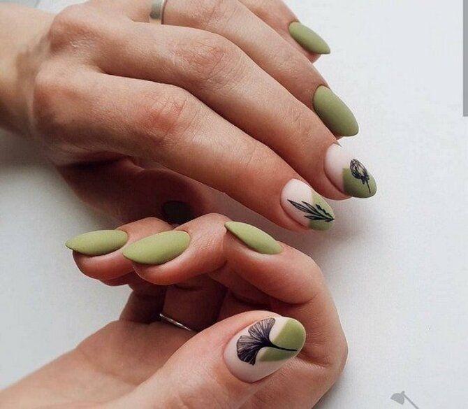 Разные руки – горячий nail-тренд 2020 2021 7