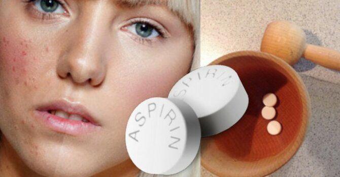 Маски из аспирина – скажем нет прыщам и морщинам 4