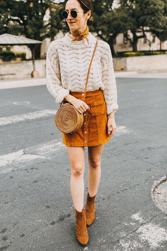 Какую юбку мини выбрать на осень 2020? 14
