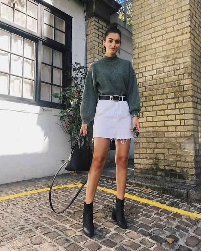 Какую юбку мини выбрать на осень 2020? 4