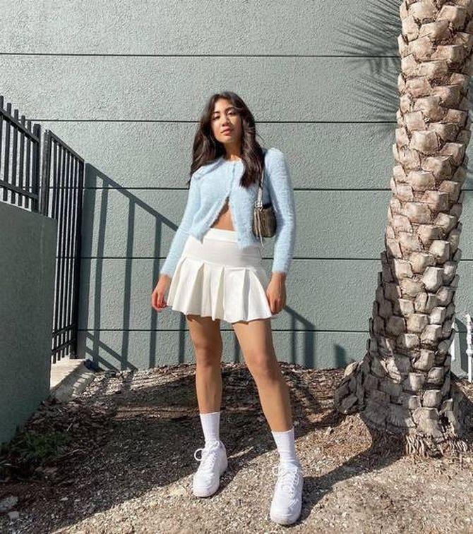 Какую юбку мини выбрать на осень 2020? 37