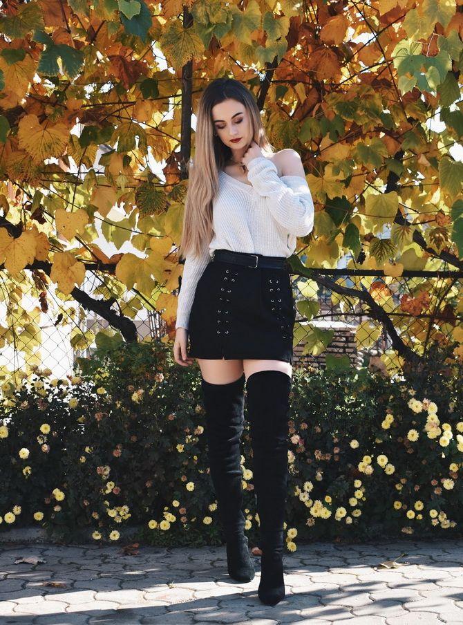 Какую юбку мини выбрать на осень 2020? 43