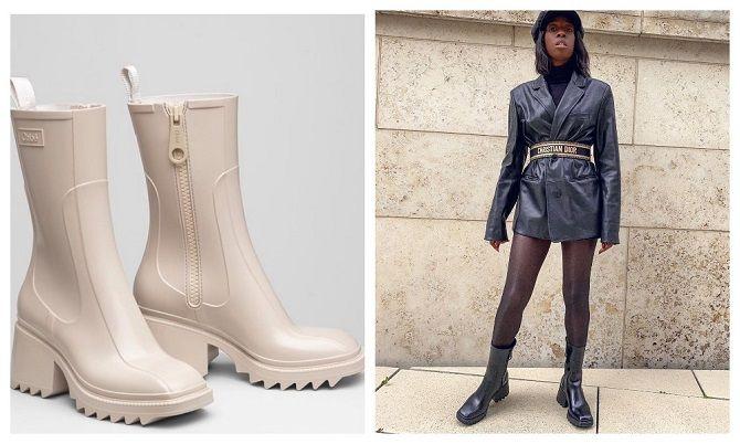 Модні гумові чоботи 2021, які впораються з будь-якою зливою 11