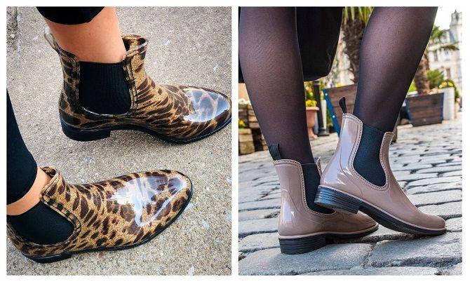 Модні гумові чоботи 2021, які впораються з будь-якою зливою 19