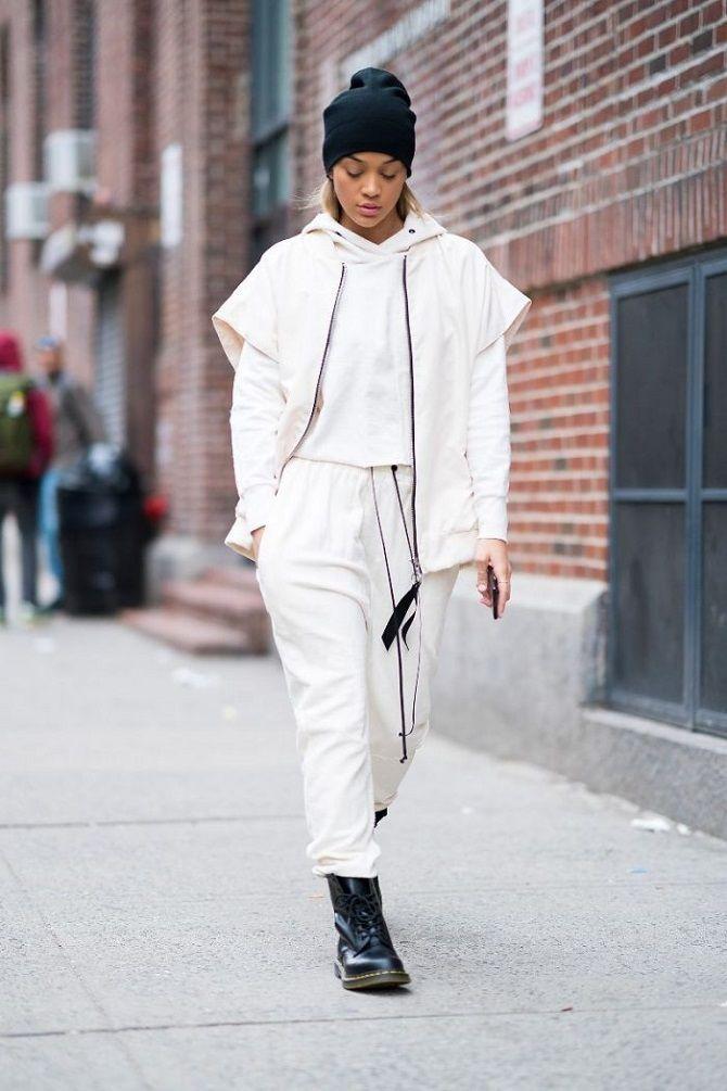 Модные образы с худи 2021: самые интересные идеи 26